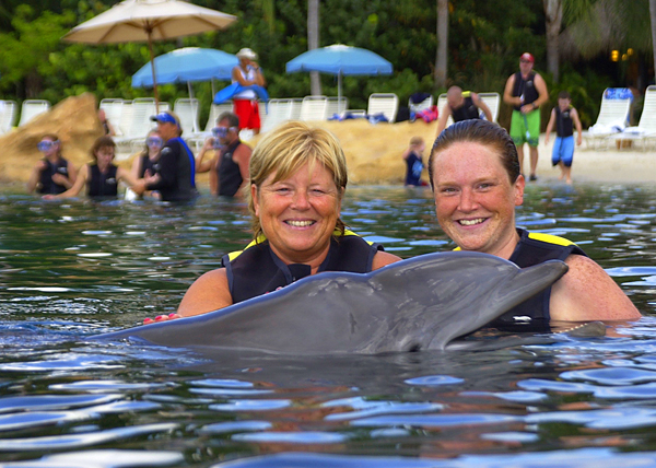 Discovery Cove at Sea World Orlando
