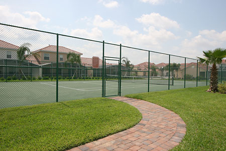 Tuscan Hills - Clubhouse Tennis Court