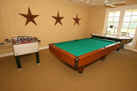 Tuscan Hills - Clubhouse Game Room