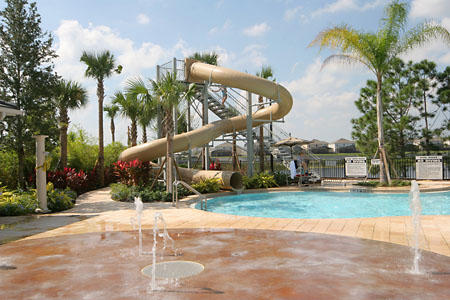 Windsor Hills - Clubhouse Water Slide
