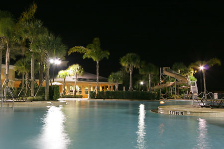 Windsor Hills - Nightime Pool