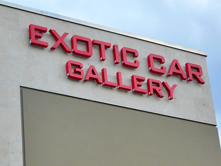 Exotic Car Gallery - Orlando Florida