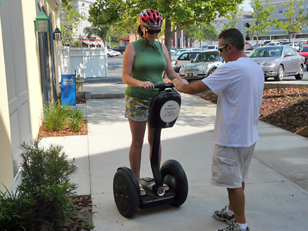 Getting to grips with the Segway