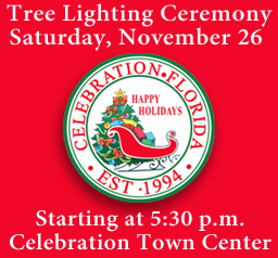 Celebration Tree Lighting and Snow Fall