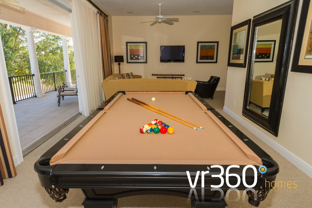 Reunion Resort Vacation Rental Games Room