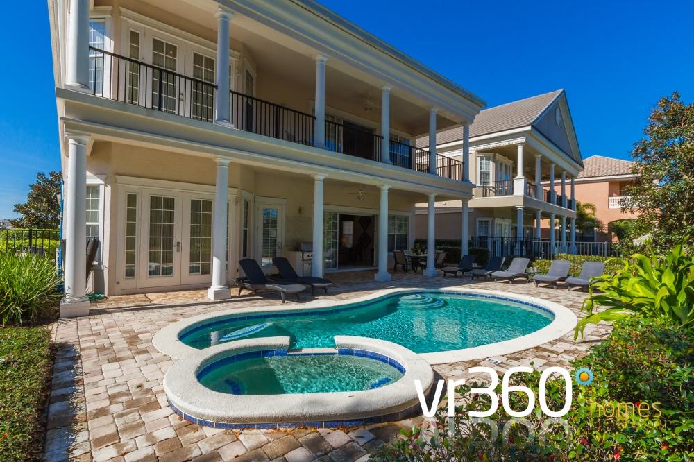Reunion Resort Vacation Rental Pool Area