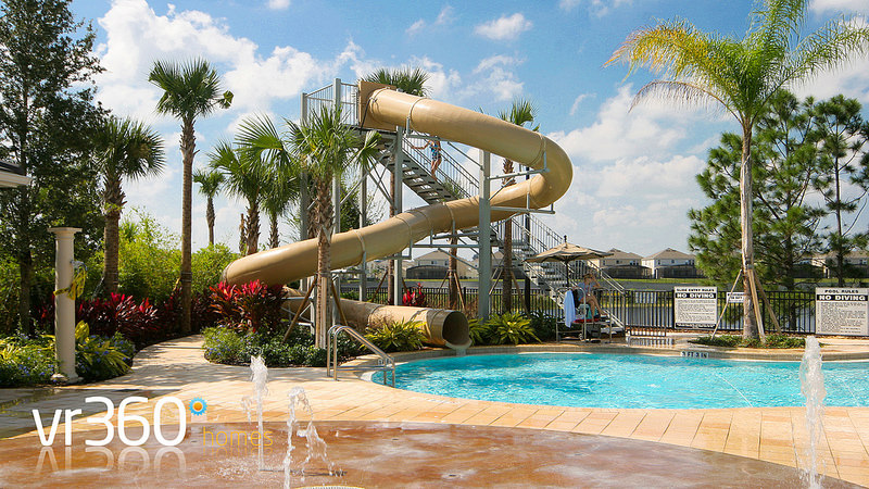 Windsor Hills Resort Clubhouse Pool and Water Slide