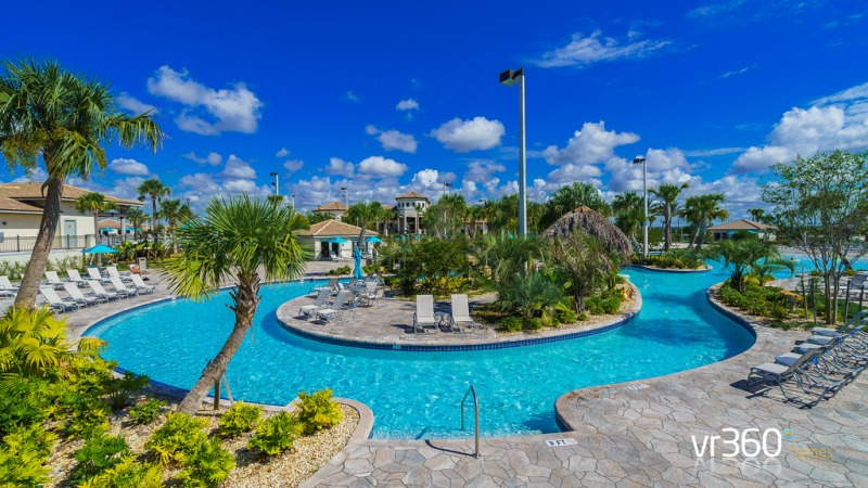 The Oasis Clubhouse Pool at Champions Gate in Orlando Florida