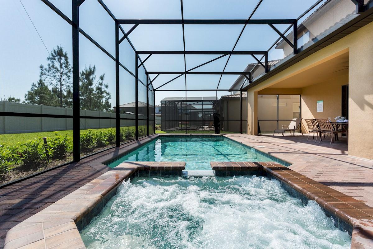 Windsor at Westside Orlando Villa Pool Area